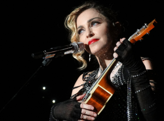 Madonna on Being the 'Bad-Cop' Parent When it Comes to Cell