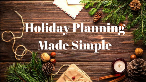 Holiday Planning Made Simple - Thrive Global