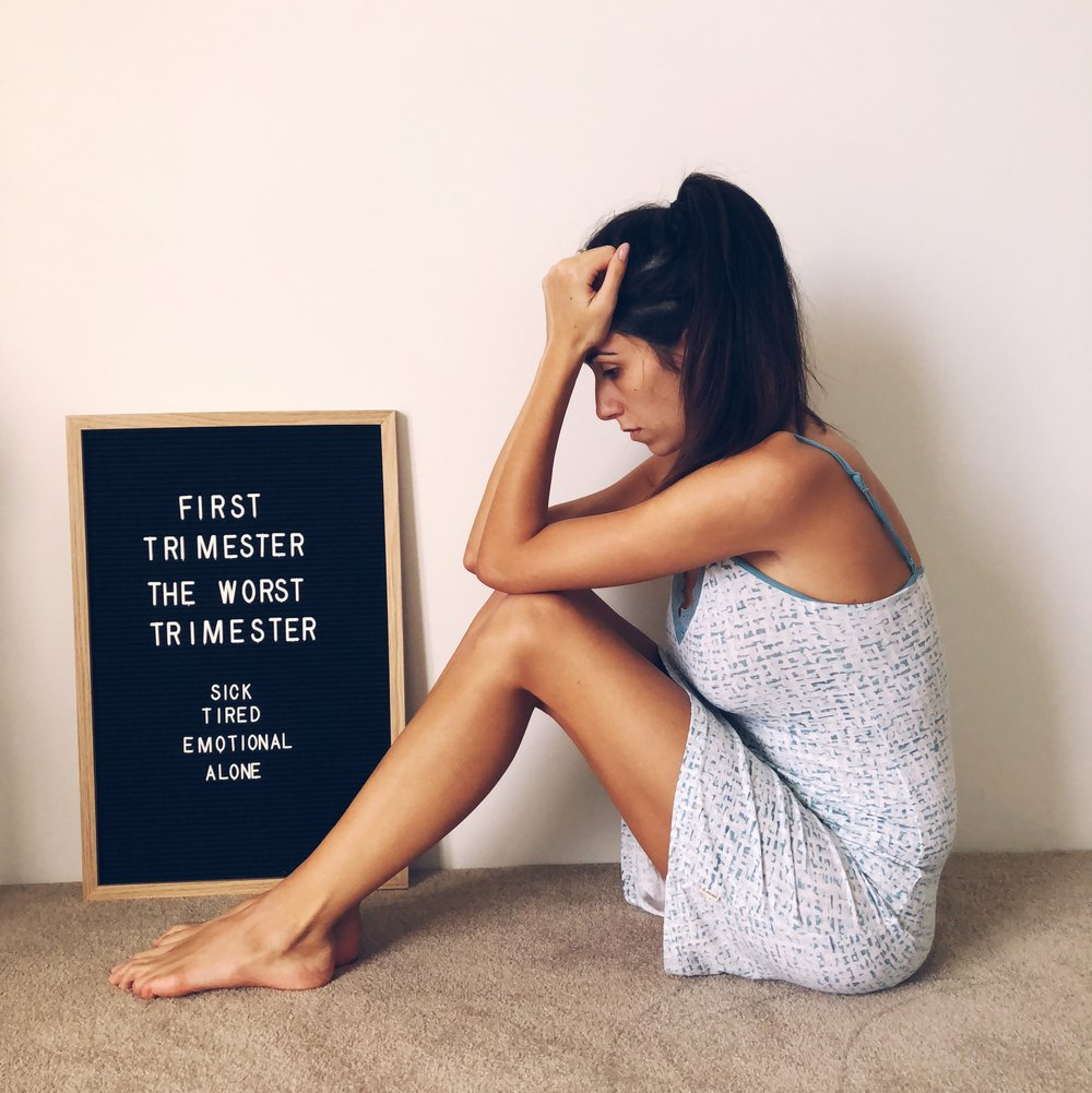 How It S Ok To Not Be An Ideal First Trimester Mom Thrive