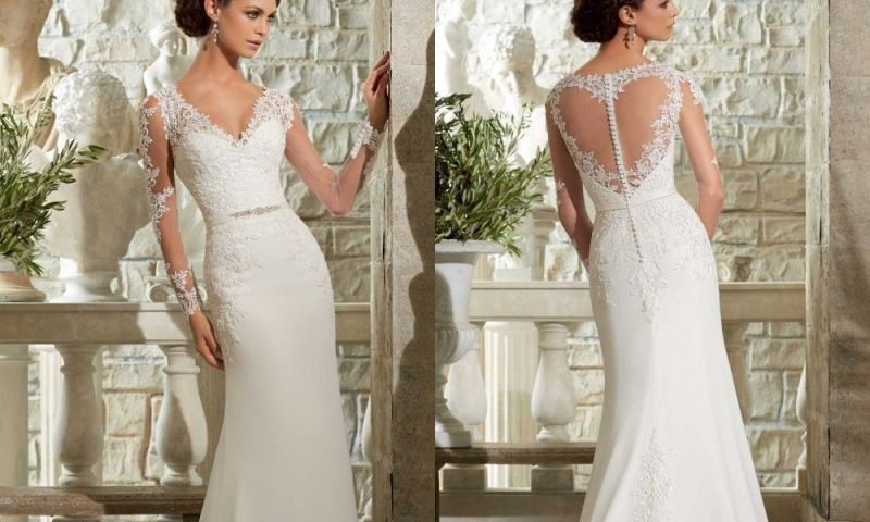 6 Critical Facts About Wedding Gown Preservation You Absolutely Need To Know,Combination Lace Dress Styles For Wedding Guest