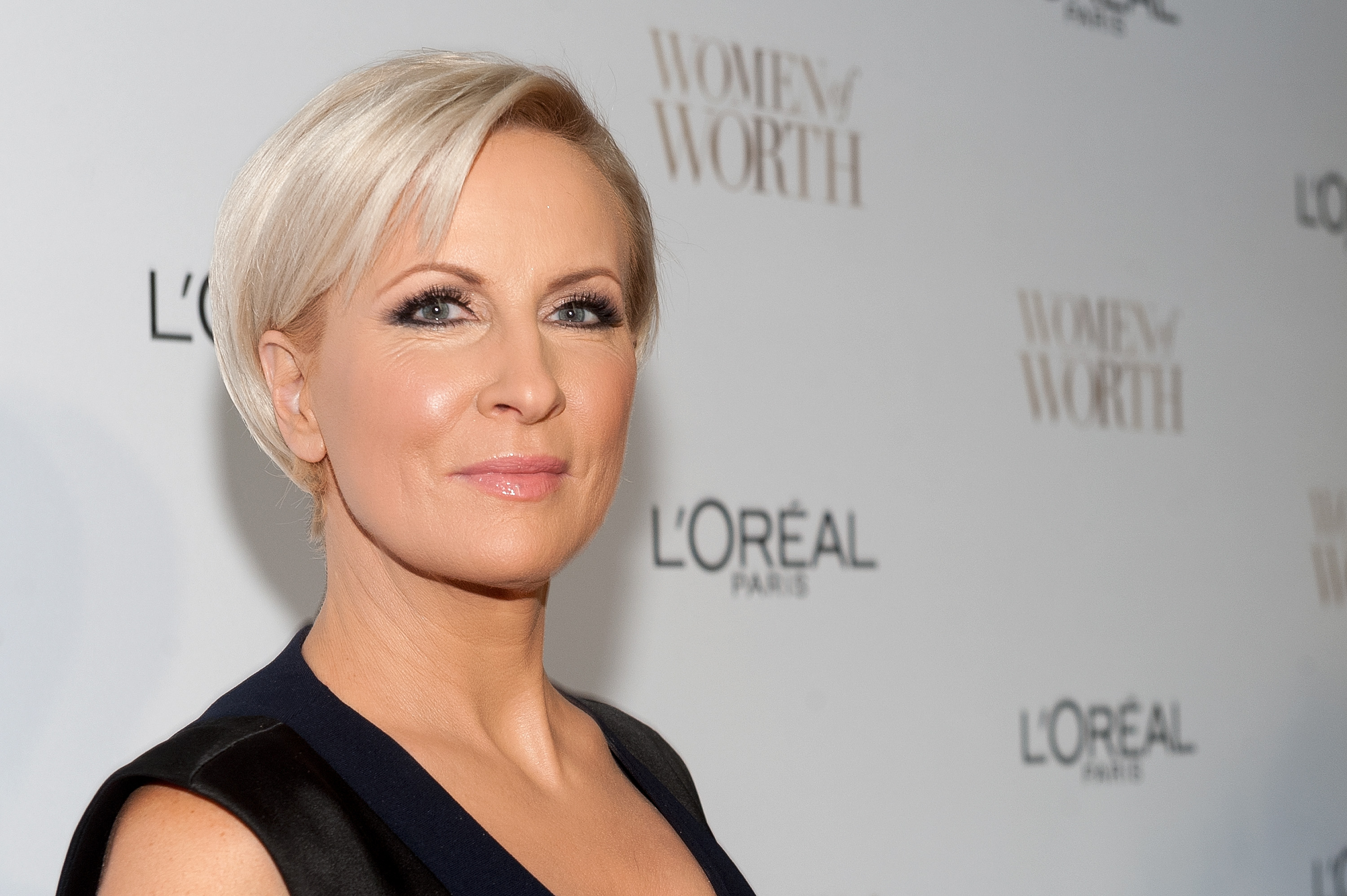 NEW YORK, NY - DECEMBER 02:  Mika Brzezinski attends L'Oreal Paris' Ninth Annual Women of Worth Awards at The Pierre Hotel on December 2, 2014 in New York City.  (Photo by D Dipasupil/FilmMagic)
