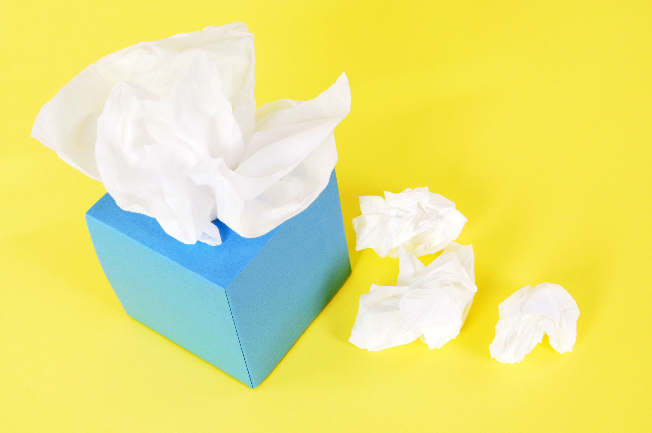 Tissues in blue box on a yellow background.  Alternative file shown below: