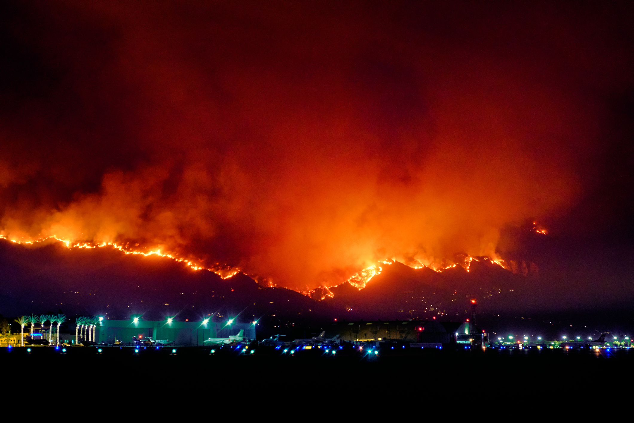 Los Angeles' largest wildfire to date, which burned more than 7,000 acres in the Verdugo Mountains area