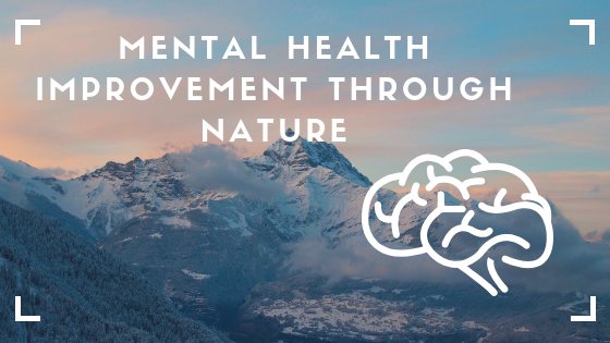 How nature improve mental health