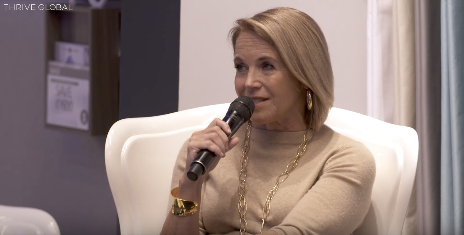 Katie Couric Struggles With Self-Image, Too. Here's How She Overcomes It.