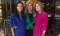 From left to right, Kirsten Allegri Williams, Arianna Huffington, Jen Morgan