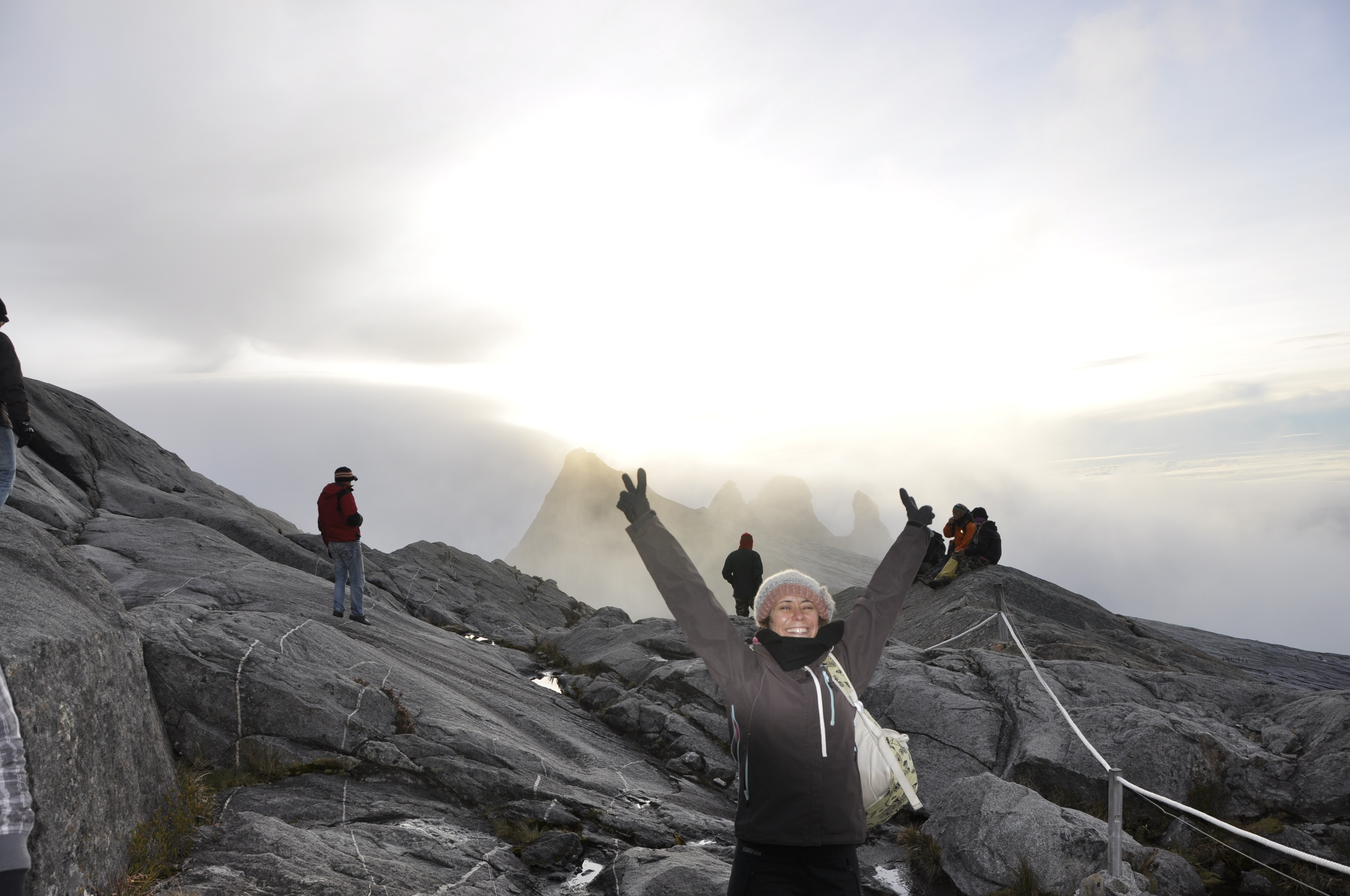 After Watching the Sun Rise From the Summit of Mount Kinabalu, Malaysia
