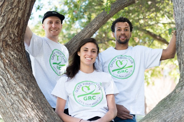 Graduate students in public health established the Green Ribbon Club at UCLA to destigmatize mental health and unify different mental health and suicide awareness groups on campus. (Anna Moreno-Takegami/Daily Bruin)