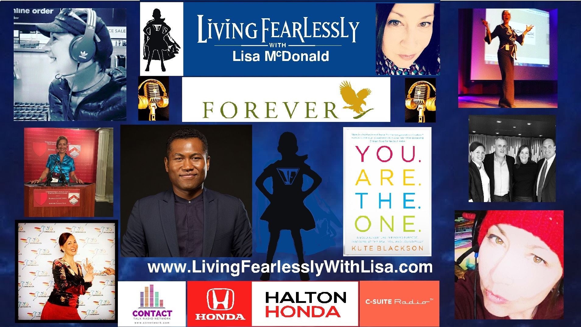 Kute Blackson on Living Fearlessly with Lisa McDonald 3-30-18