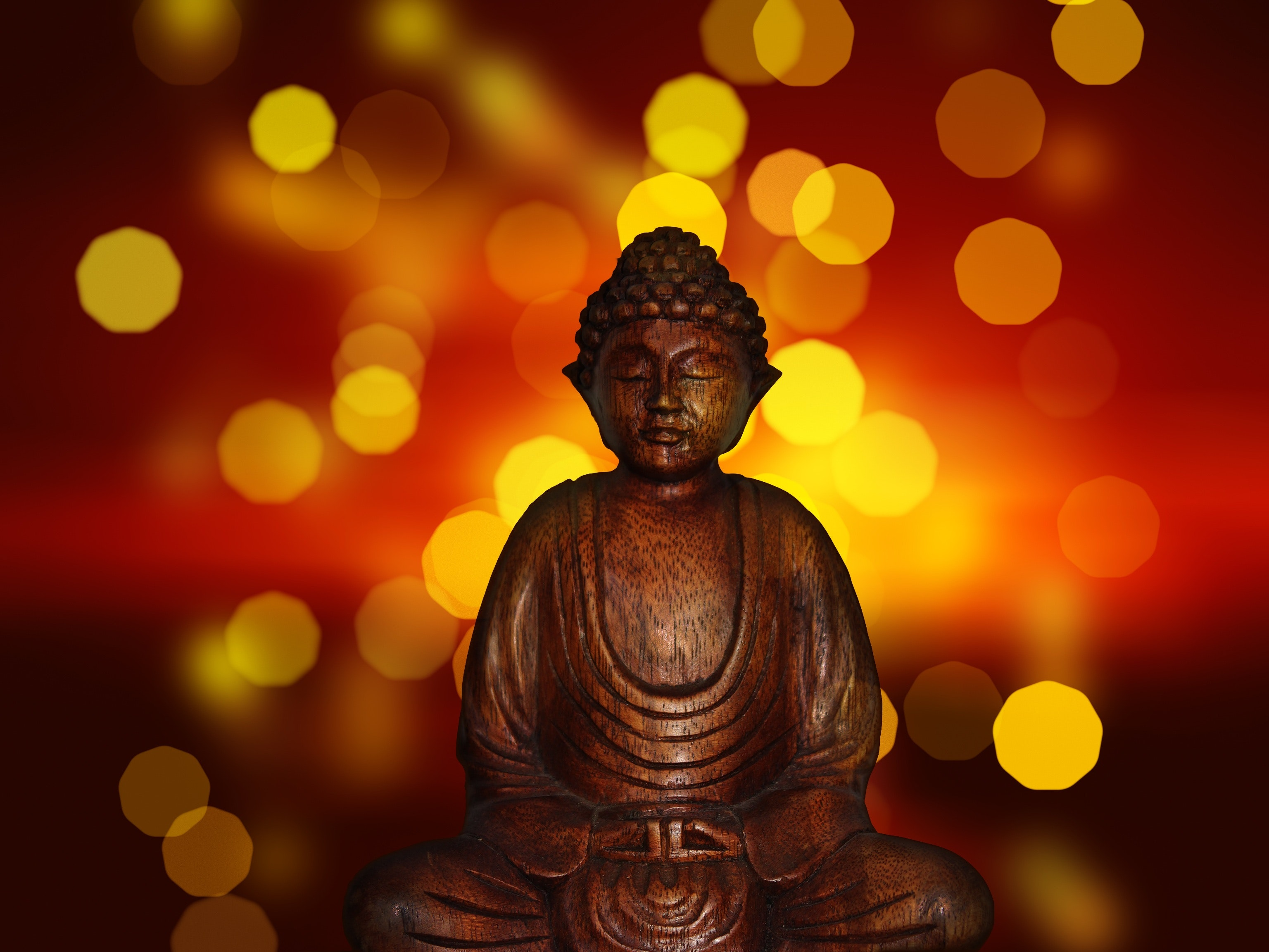 Guided meditation leads to mindfulness