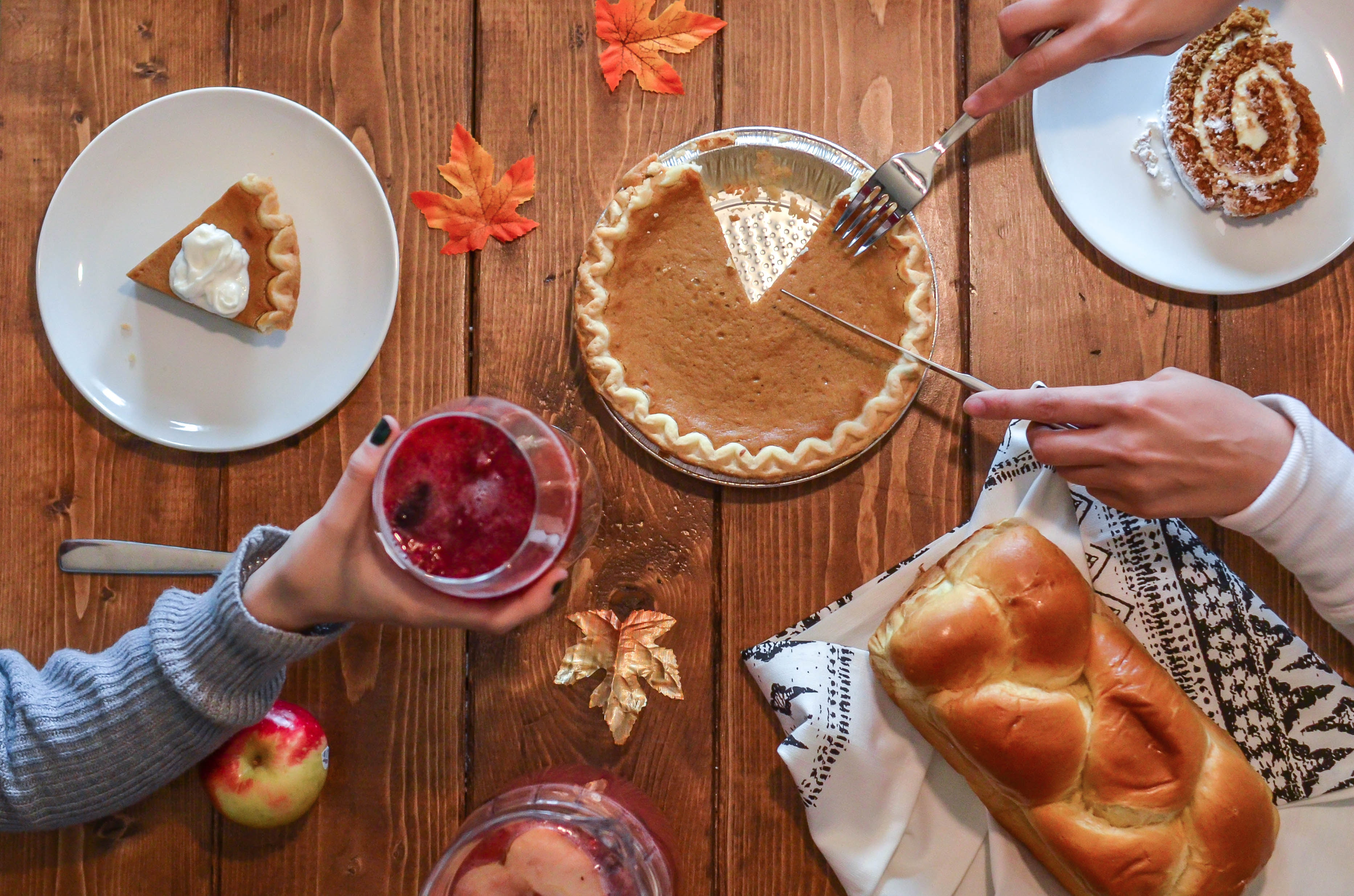 thanksgiving and giving back