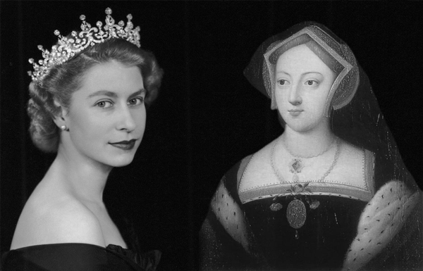 Elizabeth II and Mary Boleyn