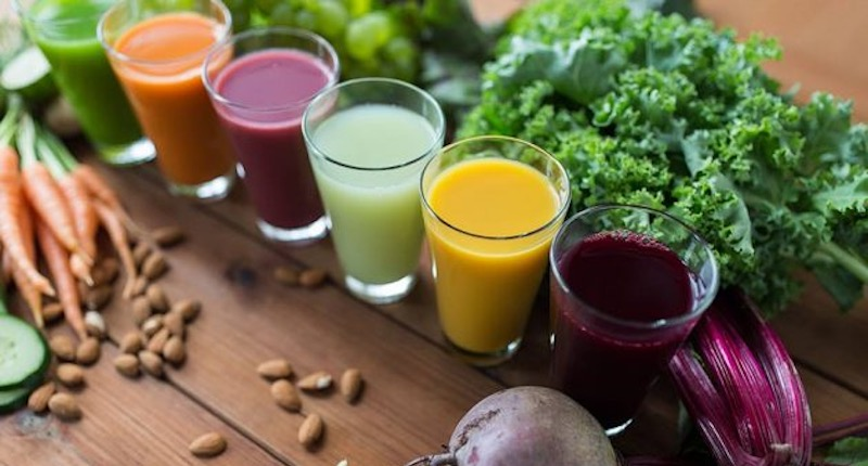 health benefits juicing