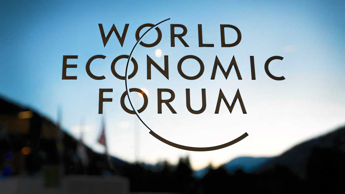 World Economic Forum in Davos Switzerland.