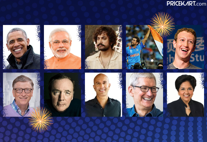 From Narendra Modi to Mark Zuckerberg: See How These Famous People Wished New Year