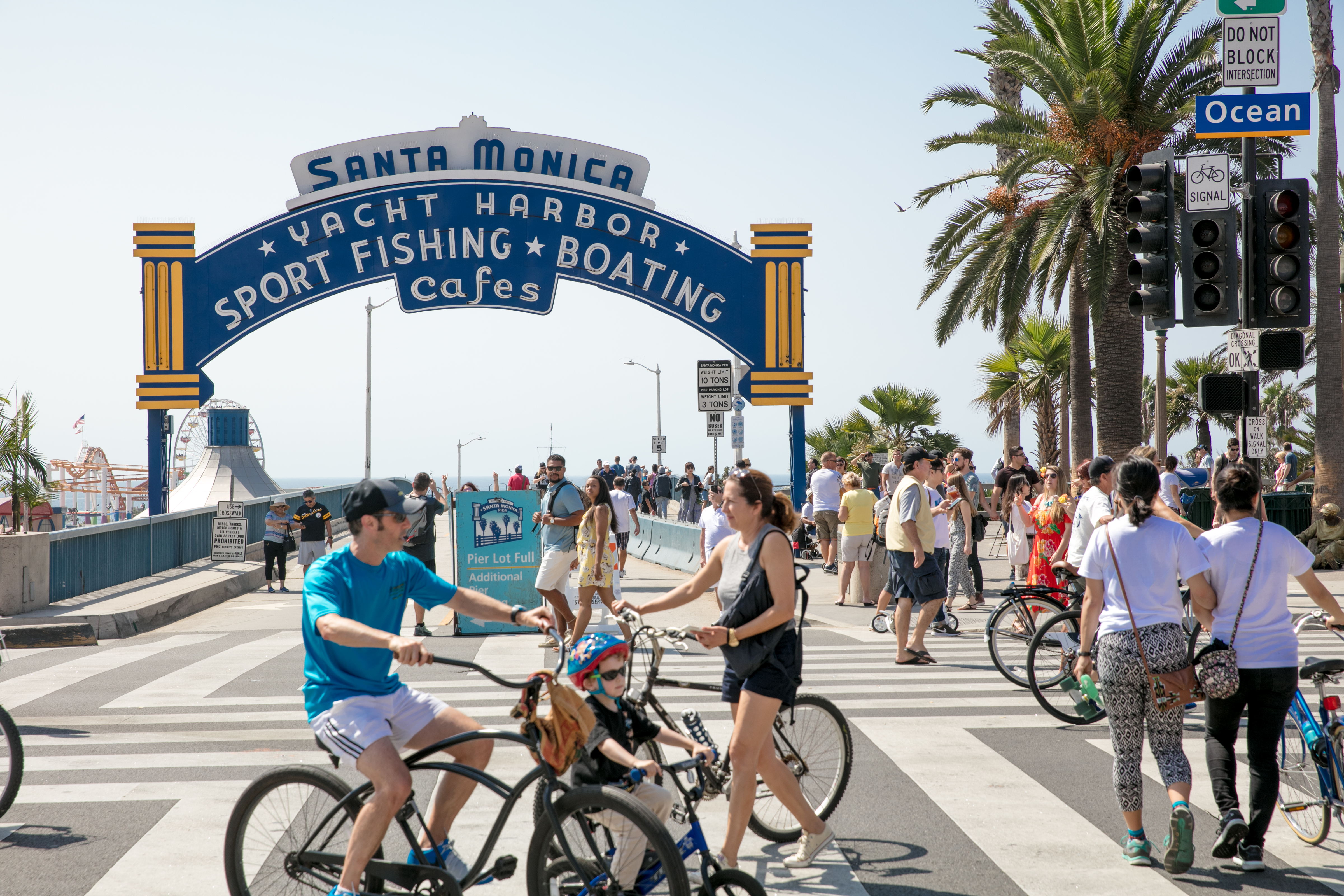 The iconic Santa Monica, California pier. William short photography. Photo (c) Santa Monica City. Used with permission.