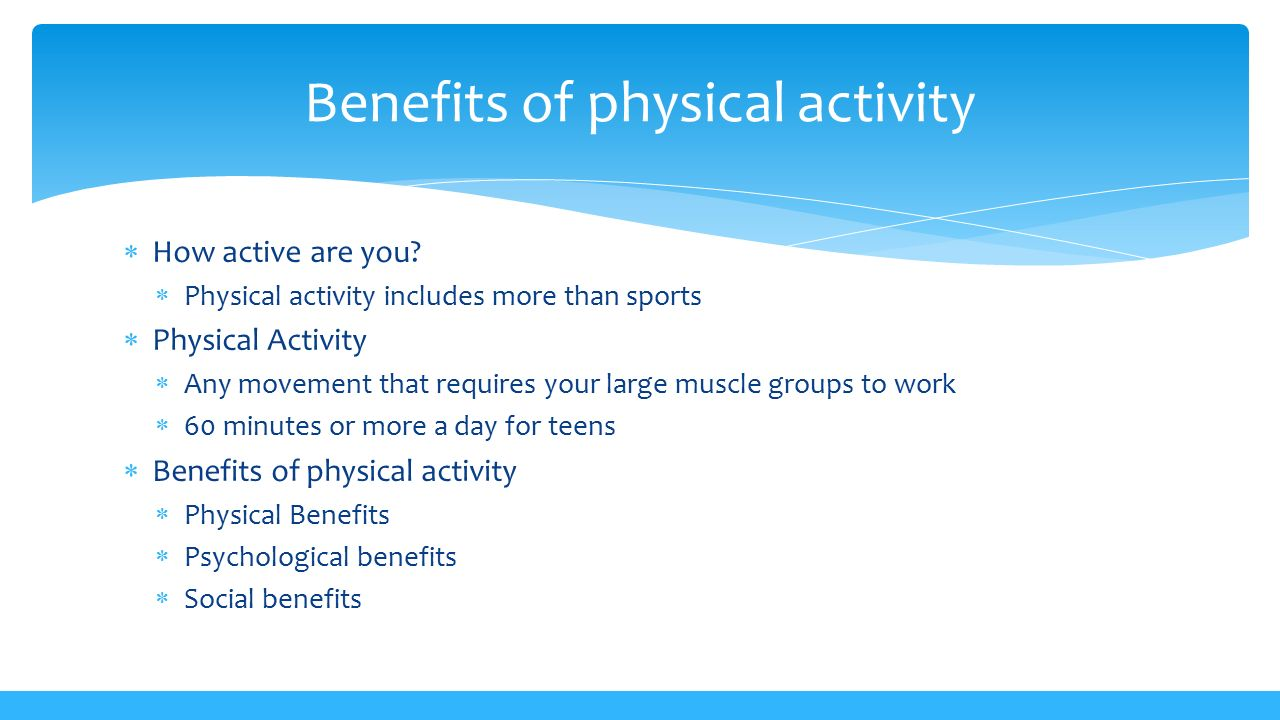 Learn the Importance of Physical Fitness