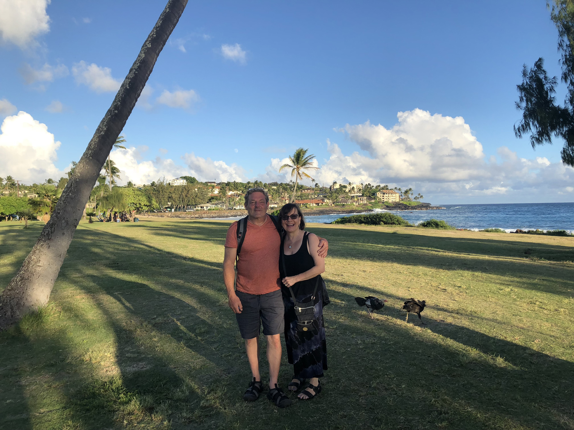 Richard Bilow and Kathy Leonardo in Kauai, Hawaii
