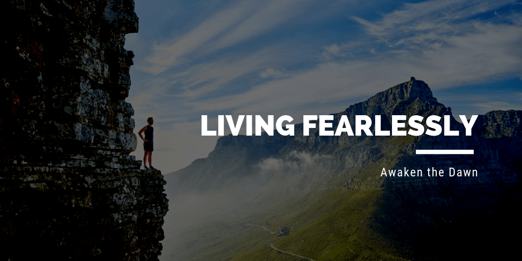 The secret to living-fearlessly by Lisa McDonald Thrive Global Contributor
