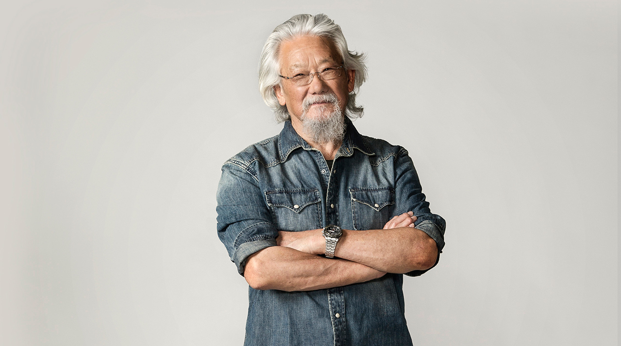 Dr David Suzuki #LivingFearlessly with Lisa McDonald
