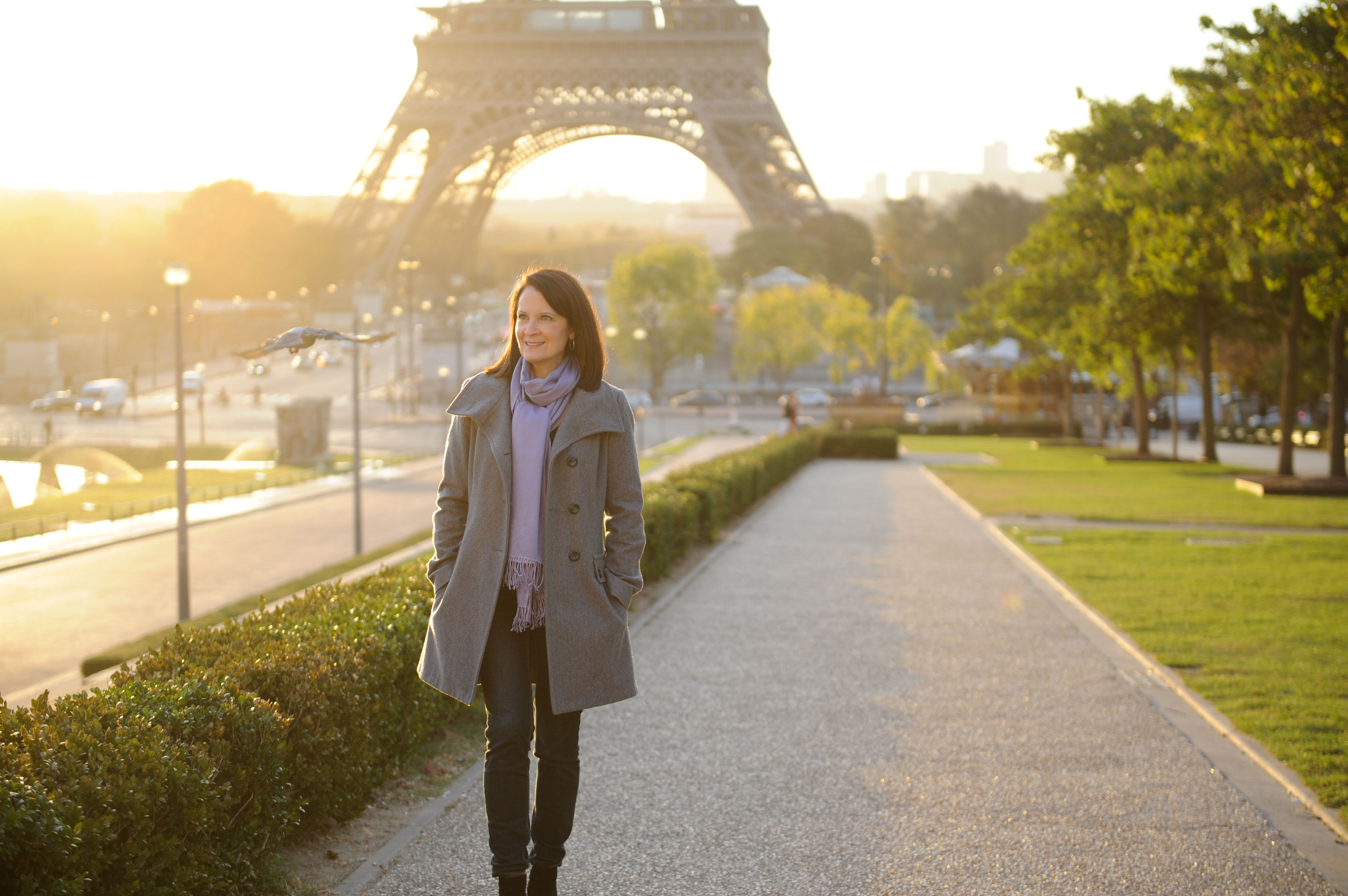 Just out for a walk in Paris!