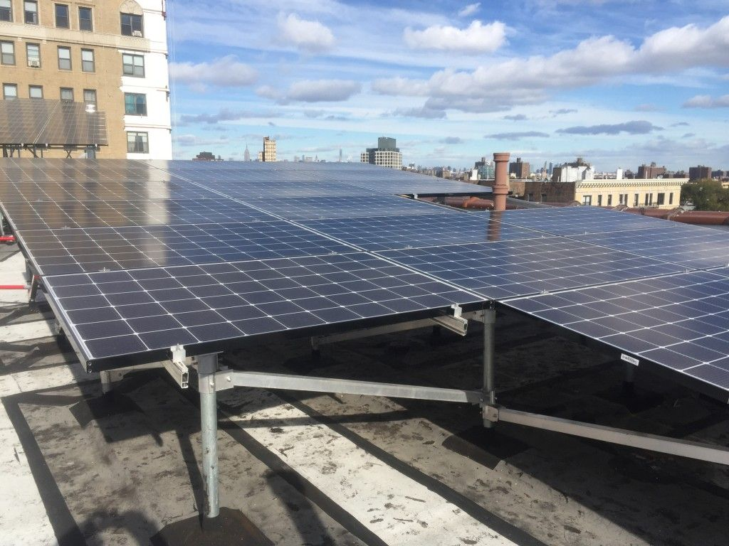 Increase in the use of solar technology