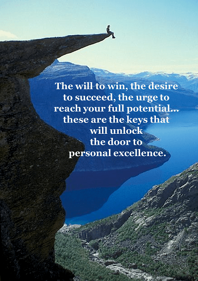pursuit of excellence by lisa mcdonald #LivingFearlessly