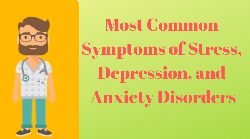 symptoms of stress and depression