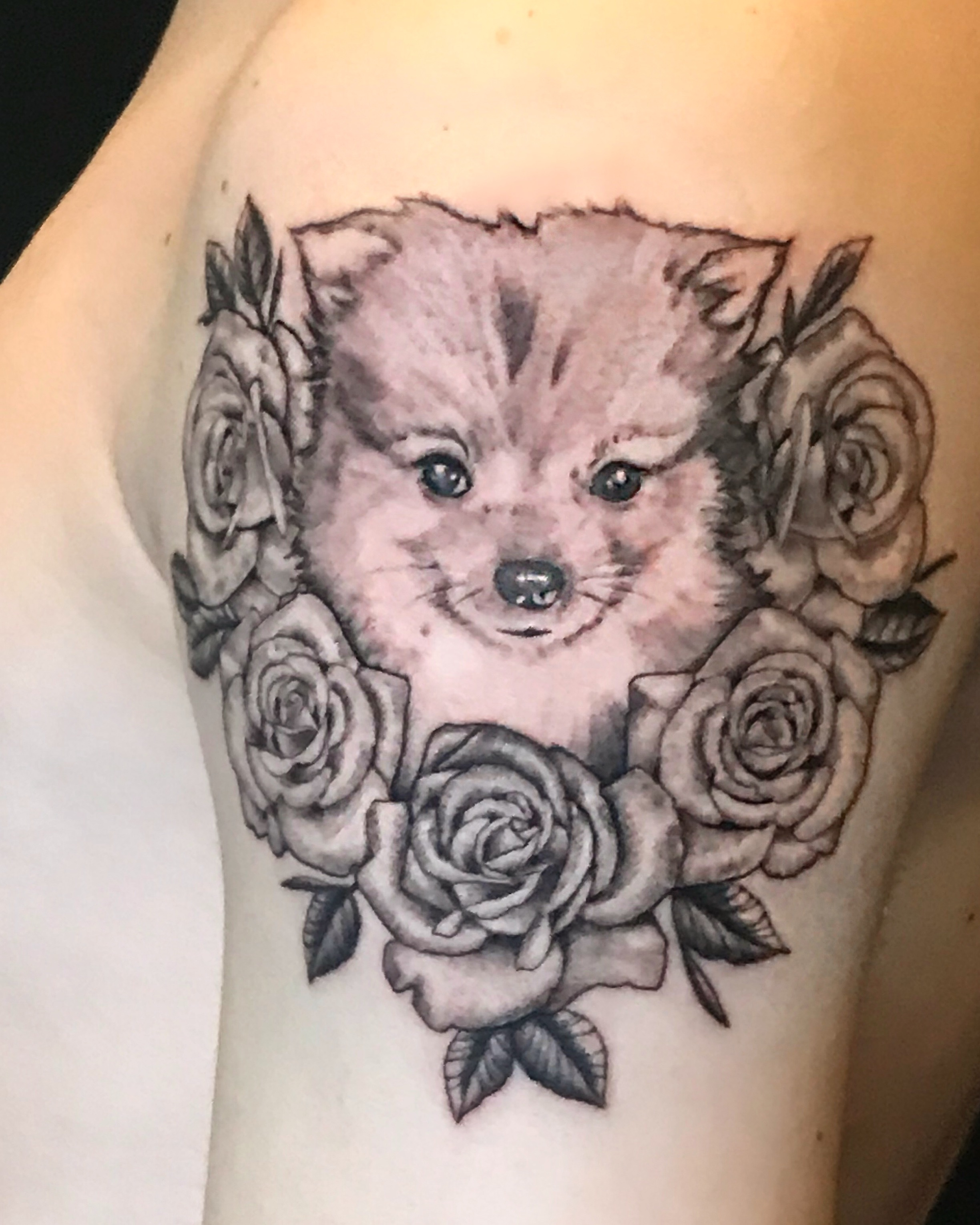 Logan Lucky Ford's Tattoo