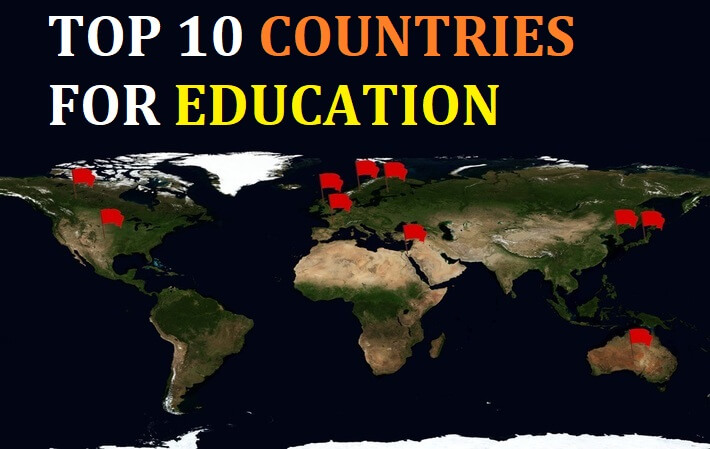 top 10 countries for education