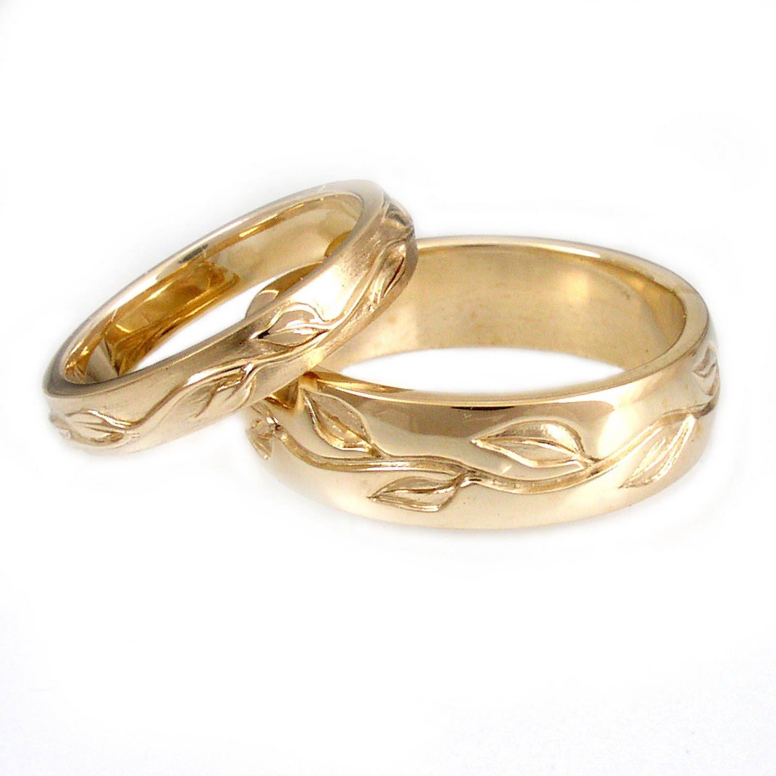 Eco Wedding Rings by greenKarat.  (PRNewsFoto/greenKarat) (Newscom TagID: prnphotos075002)     [Photo via Newscom]