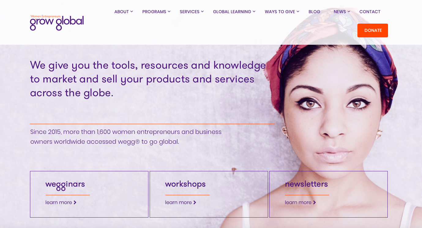wegg®: The Secret Sauce to Getting More Women to Export