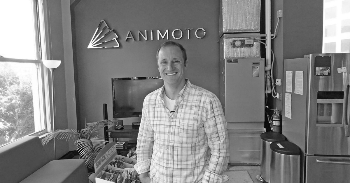 """Animoto CEO Brad Jefferson: Why we encourage the attributes of """"humbletude"""", """"betterfication"""", and """"oomphosity"""""""