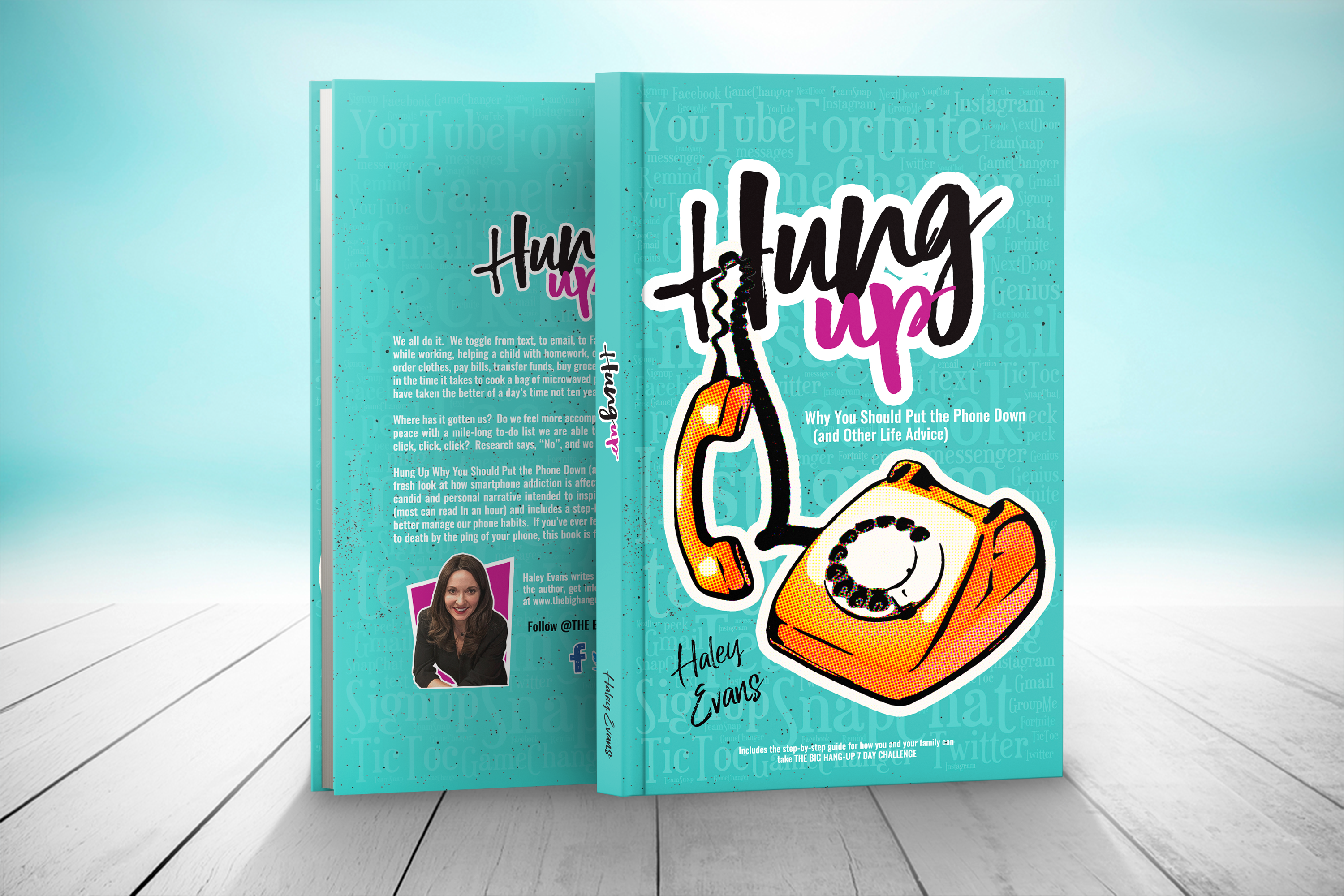 """Hung Up"" Why You Should Put the Phone Down (and Other Life Advice) available on Amazon.com"