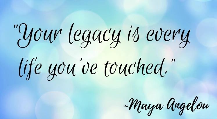 Legacy by Lisa McDonald #livingfearlessly