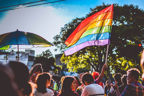 2017 LGBT Pride in Santa Fe, Argentina | Photographer: TitiNicola. Used under Creative Commons (CC BY-SA 4.0)
