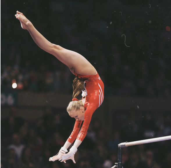 Olympic Medalist Nastia Liukin. Image courtesy of the author.
