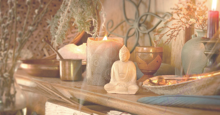 how to make a sacred space