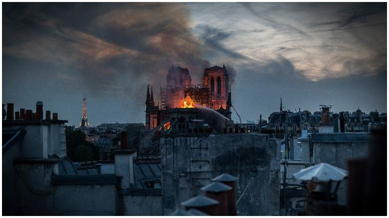 Notre Dame Cathedral Fire - Heavy.com