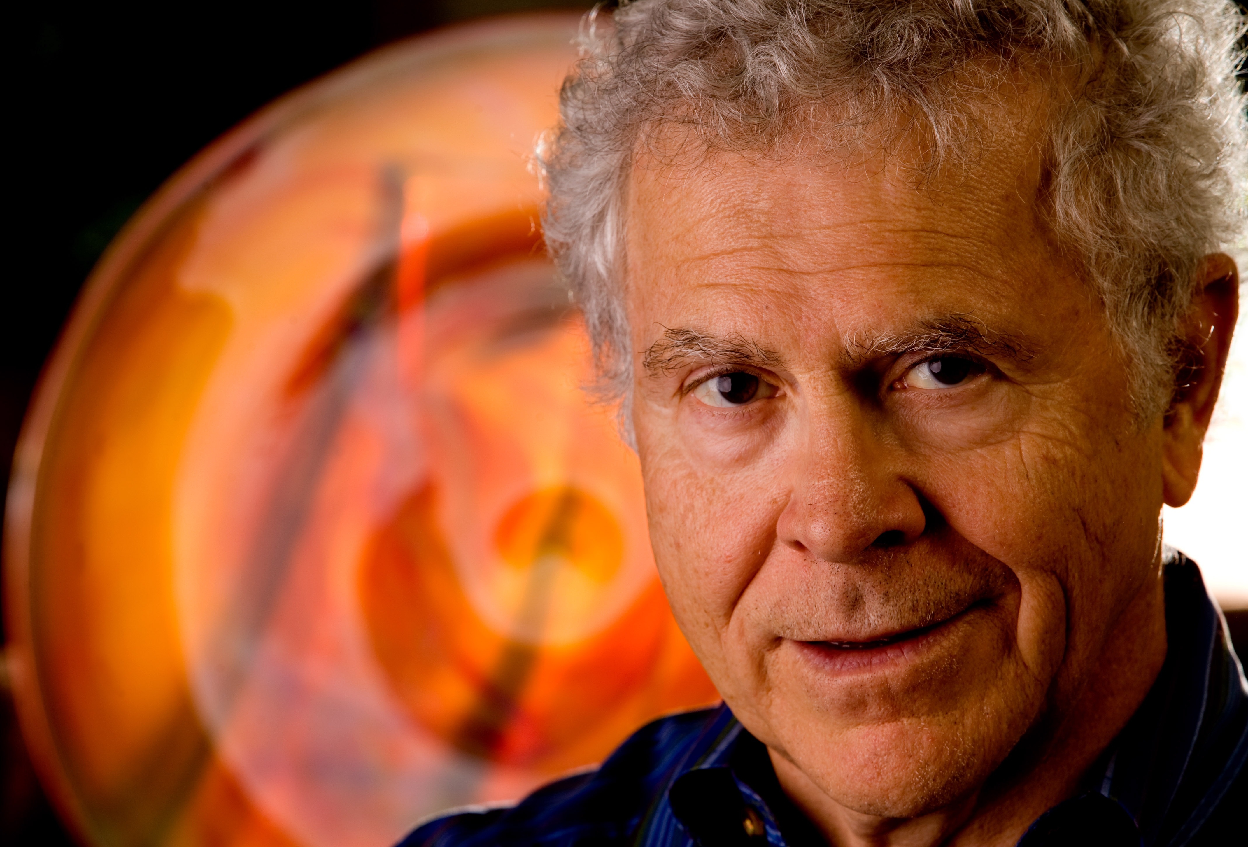 Homer Hickam is being awarded the Audie Murphy Patriotism Award at the Spirit of America Festival this year.  Hickam, who lives in Huntsville, is an author with 13 titles to his credit including Rocket Boys which was converted to the movie, October Sky.  Photo by Gary Cosby Jr.  06/25/10