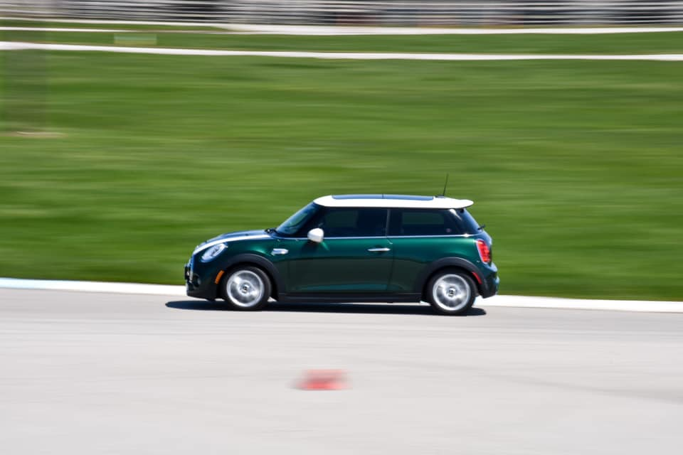 British Racing Green Mini Cooper S