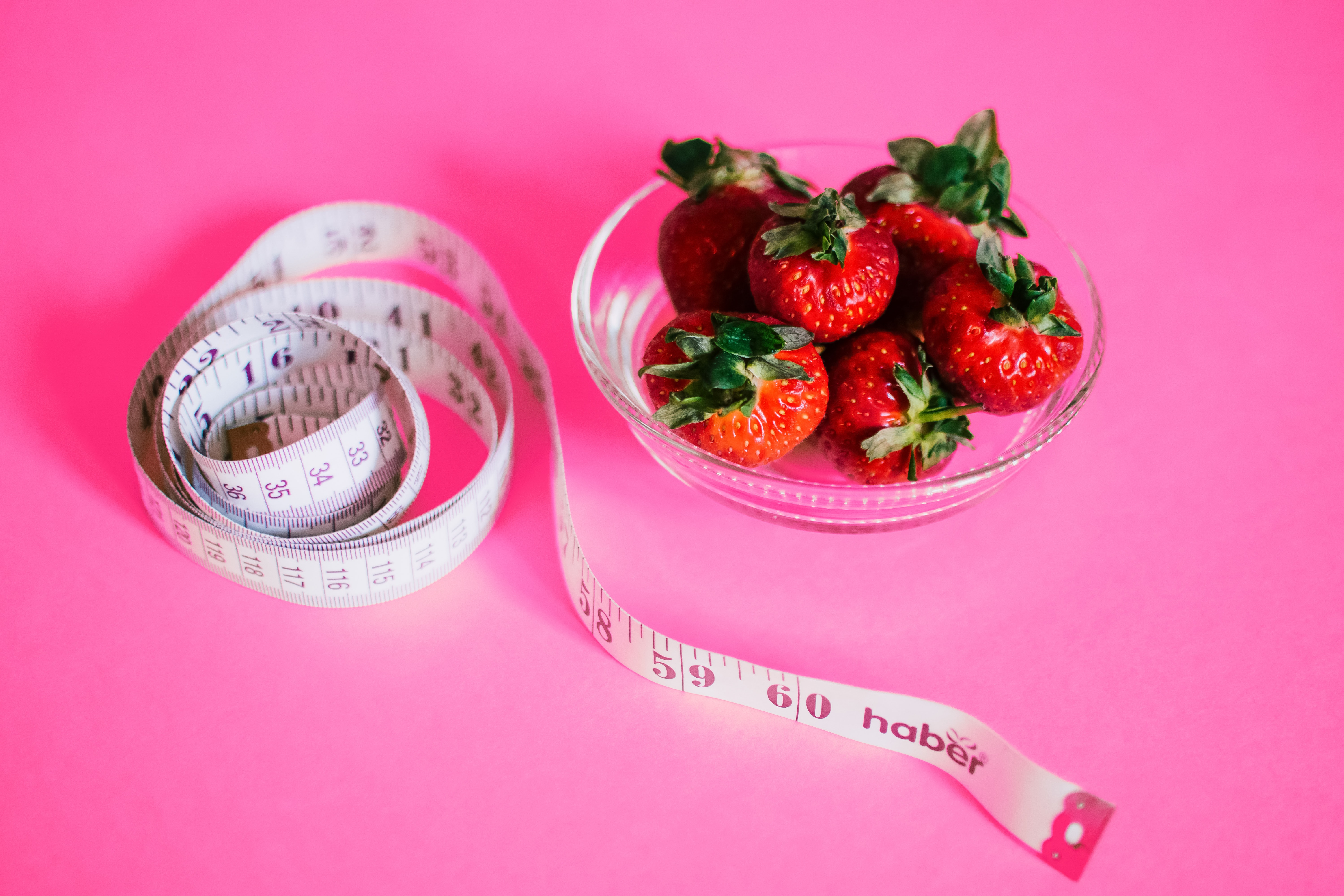 Strawberry Bowl Measured