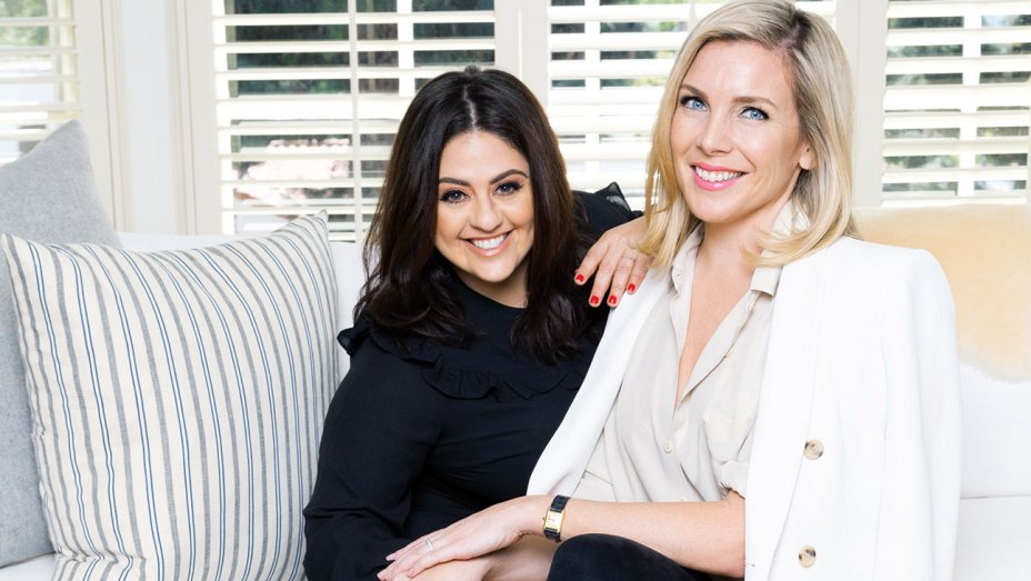 The Jane Club founders, producer Jess Zaino (left) and actress, writer June Diane Raphael (right)