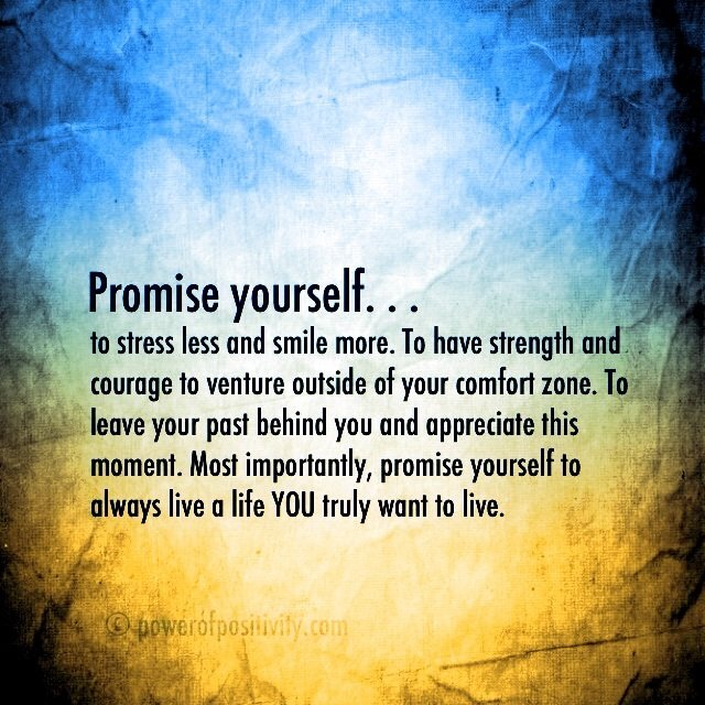 Promise Yourself