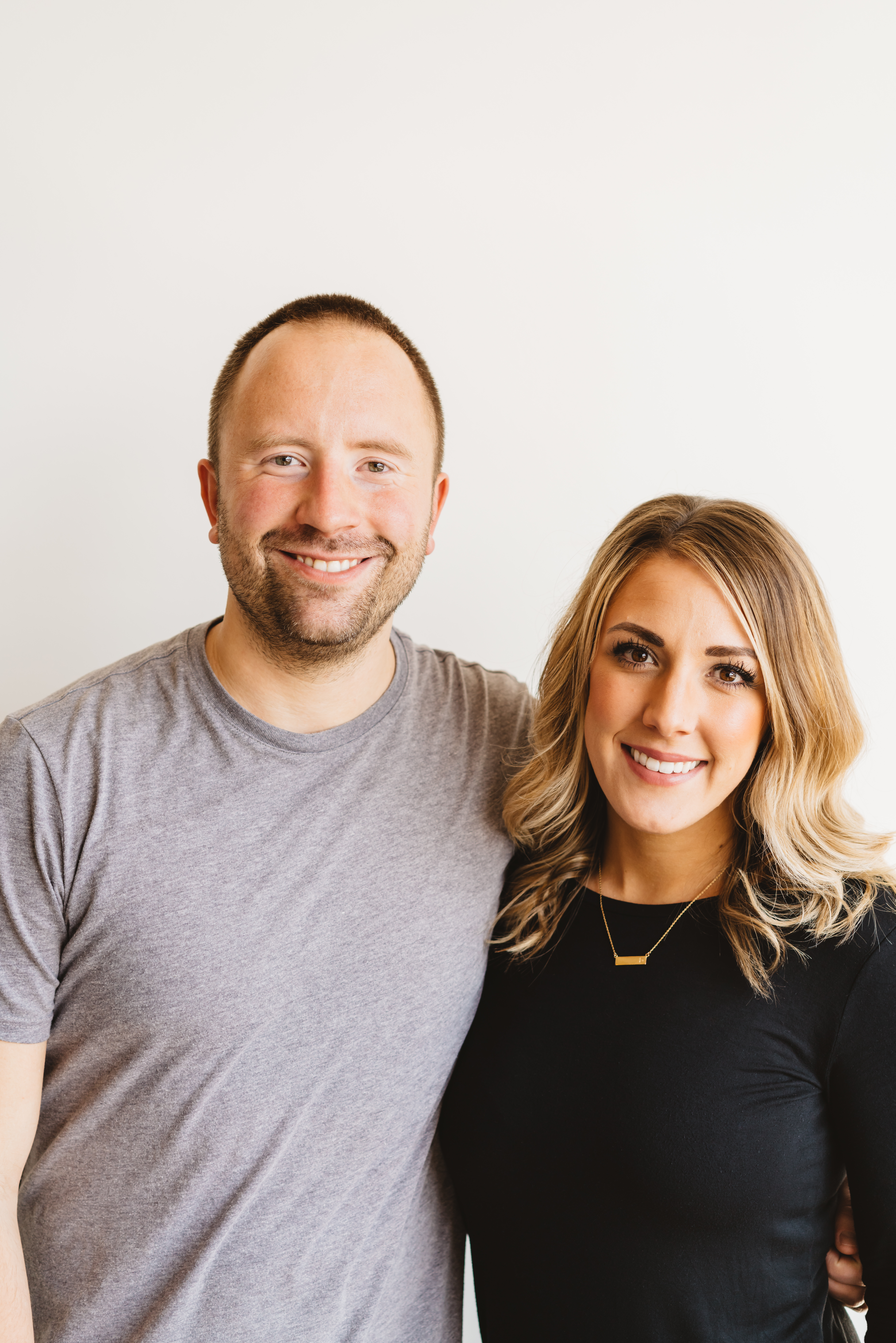 Brett & Devon Kolomyjec, founders of Happily.