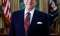 6/3/85 1985 Official portrait of President Reagan in oval office