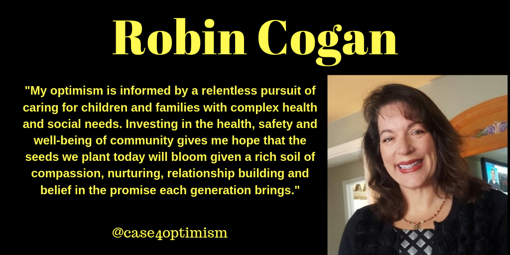 Robin Cogan's Optimism