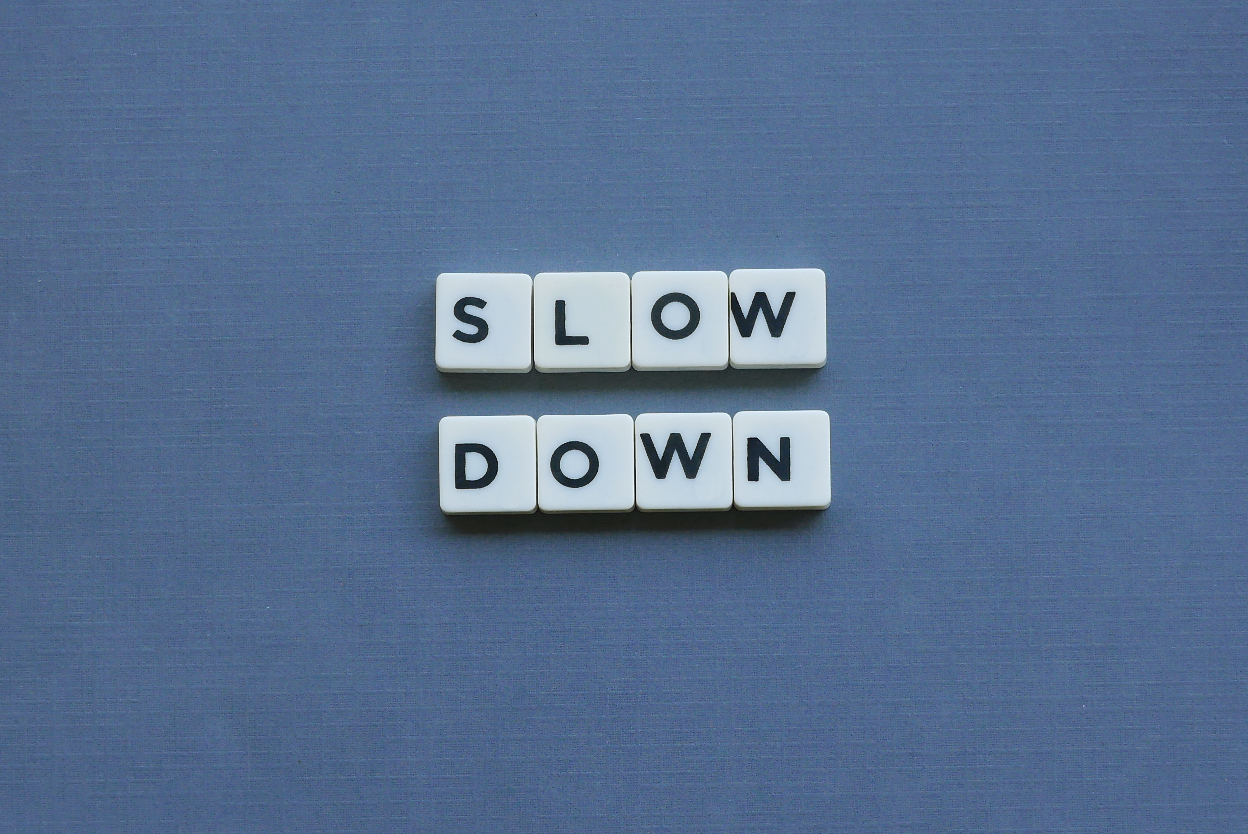 The Urgency of Slowing Down