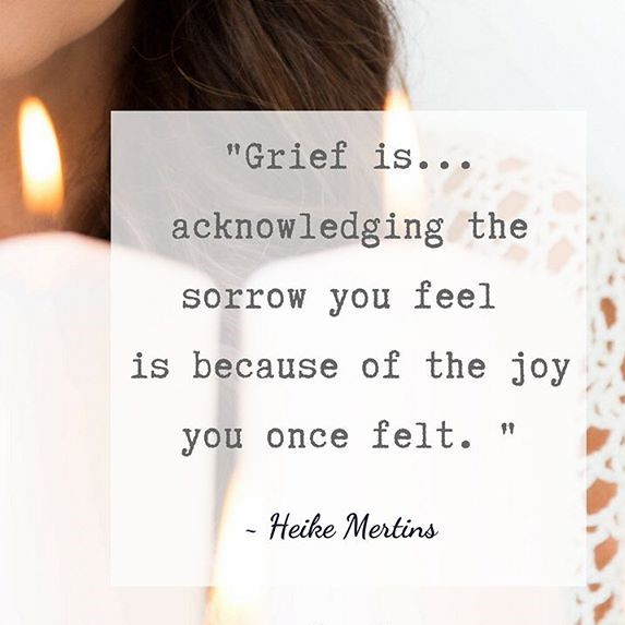 Improving How We Perceive and Manage Grief with Heike Mertins #LivingFearlessly