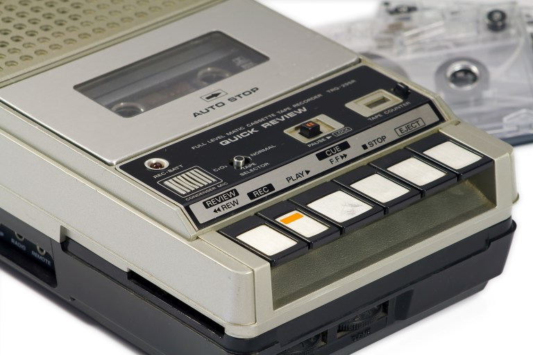 My first cassette recorder